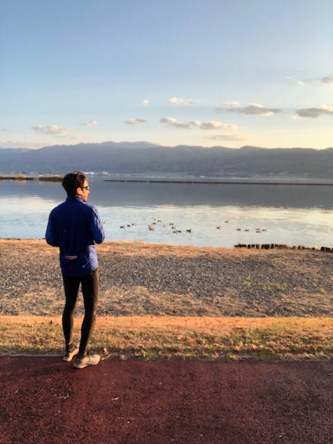 俺の休日 諏訪湖